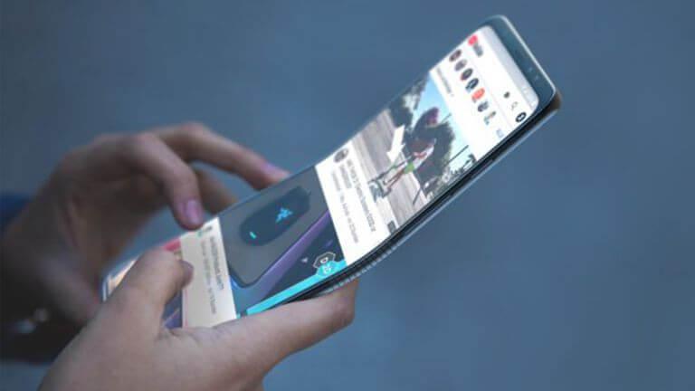 smartphone pliable motorola
